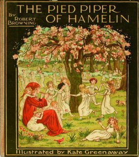 Kate Greenaway The Pied Piper of Hamelin