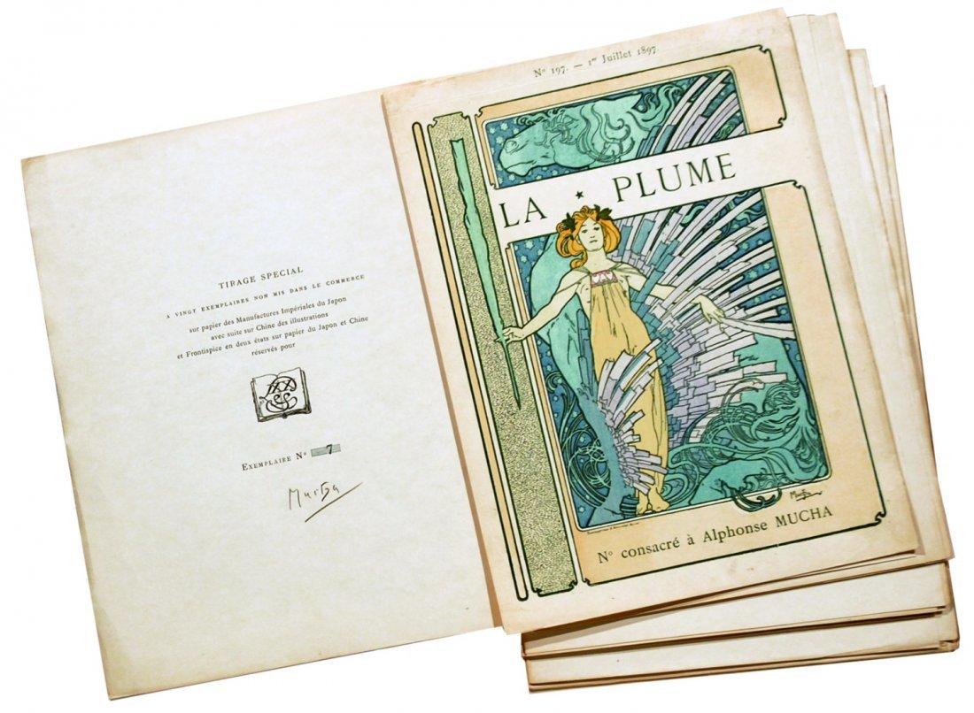 Alphonse Mucha La Plume – N° consacré à Alphonse Mucha