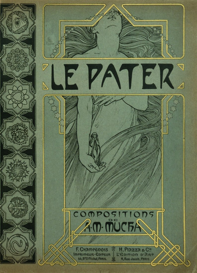 Alphonse Mucha Le Pater