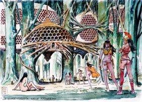 Milo Manara Barbarella la città delle Amazzoni