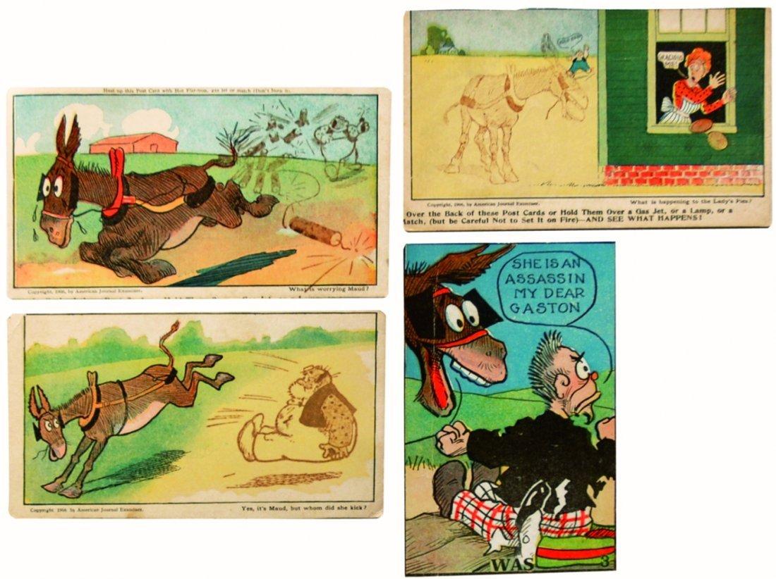 Cartoline comics - And Her Name Was Maud