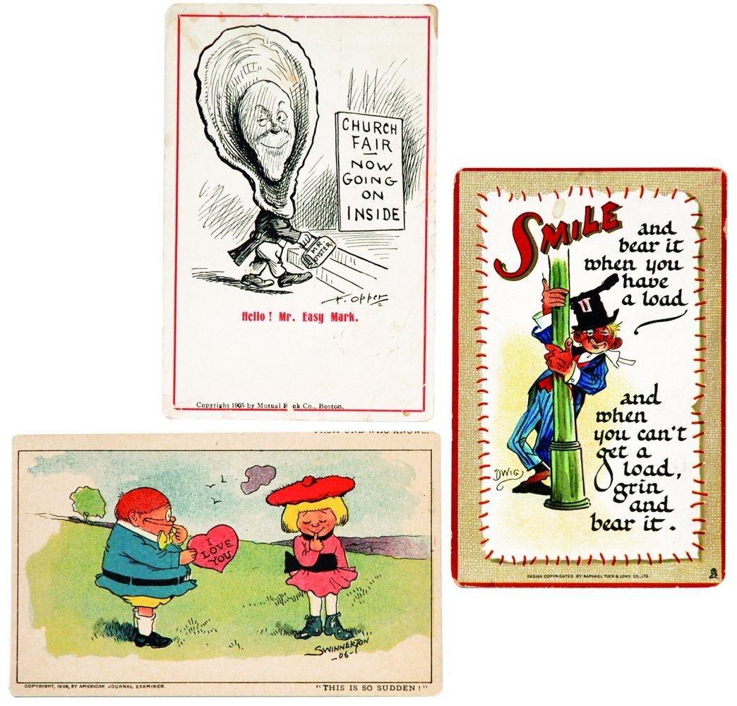 Cartoline comics - San Valentino