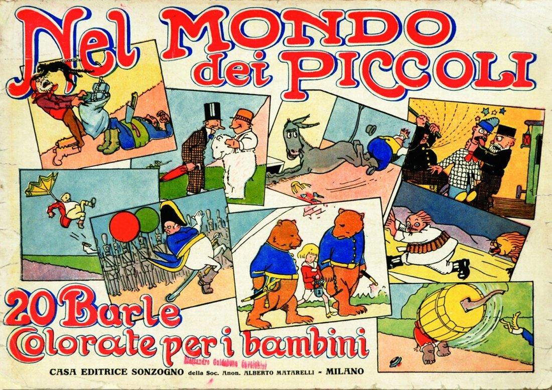Nel Mondo dei Piccoli - 20 burle colorate per i bambini