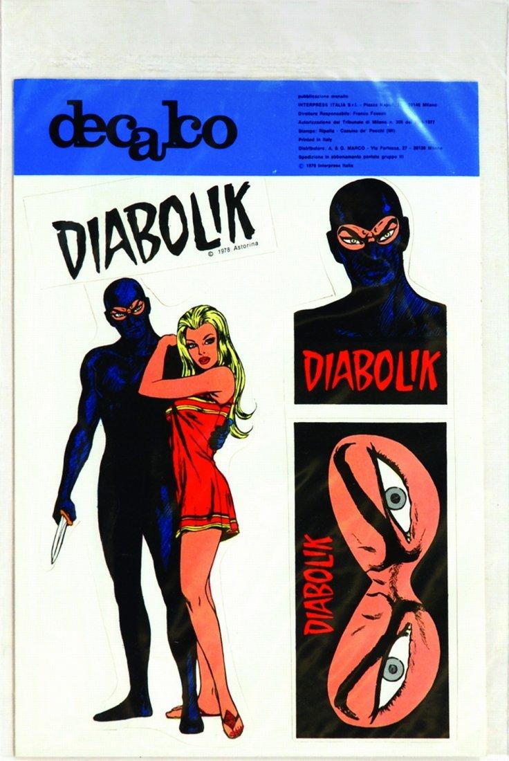Decalco Diabolik