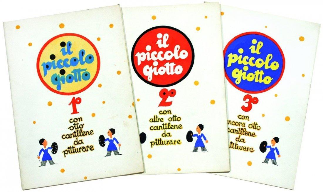 Golia (Eugenio Colmo)  - Il piccolo Giotto - con 8