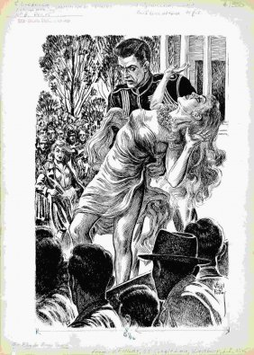 Virgil Finlay  - The Blonde from Space