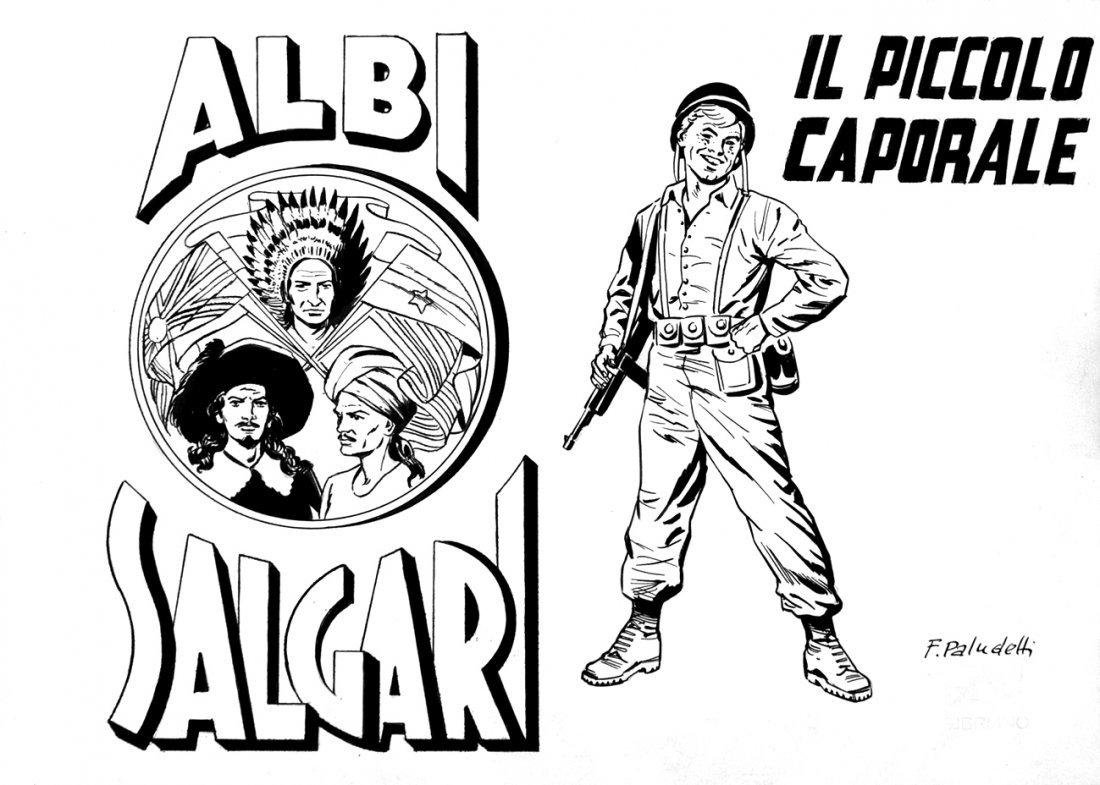 FRANCO PALUDETTI  Albi Salgari - Il piccolo caporale