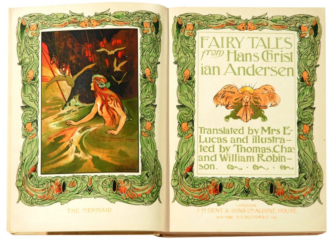 THOMAS, CHARLES AND WILLIAM ROBINSON Andersen's fairy
