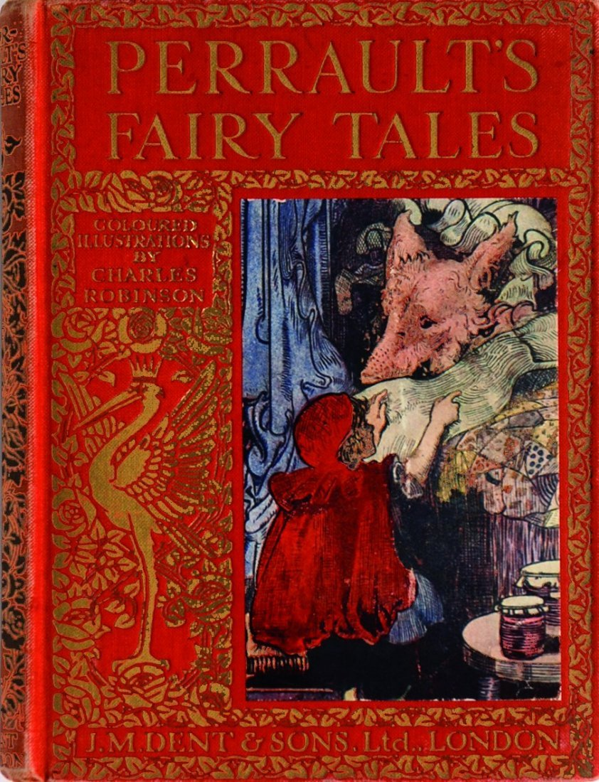 CHARLES ROBINSON Perrault's Fairy Tales