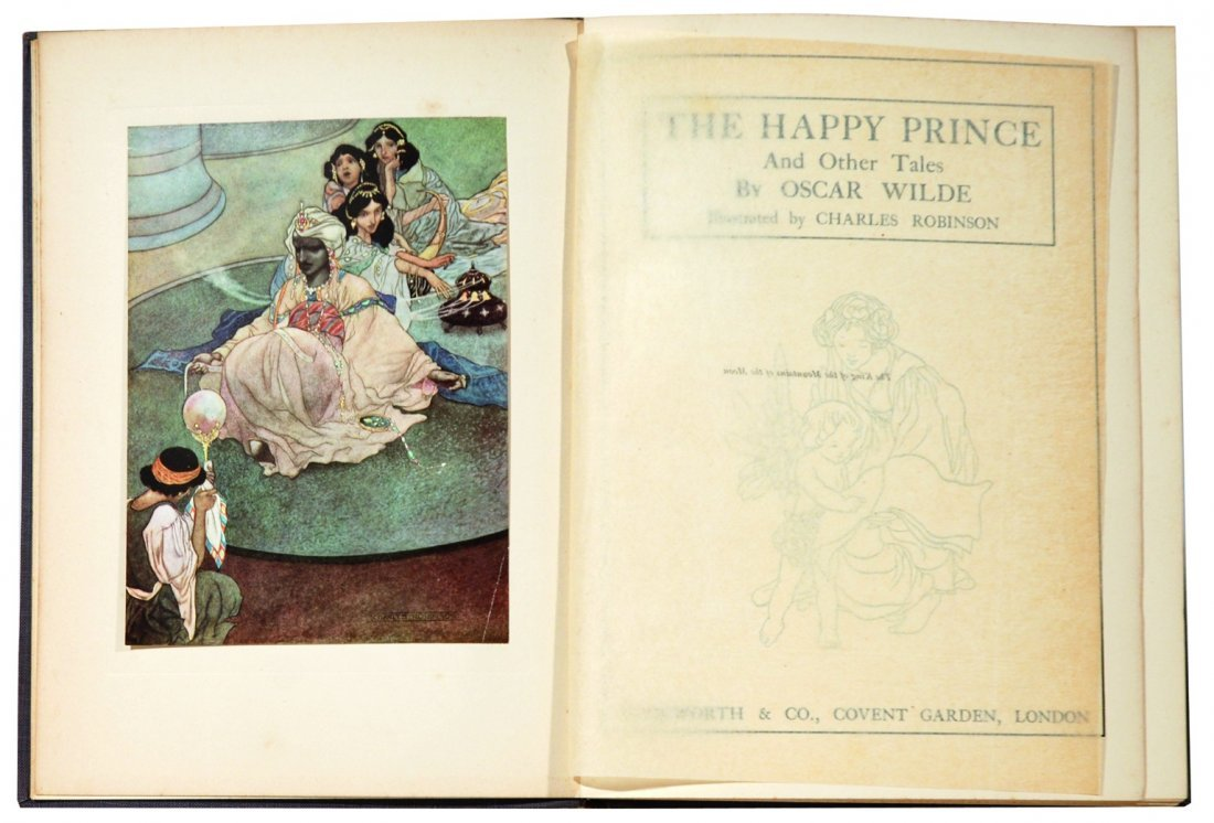 CHARLES ROBINSON The Happy Prince and other tales