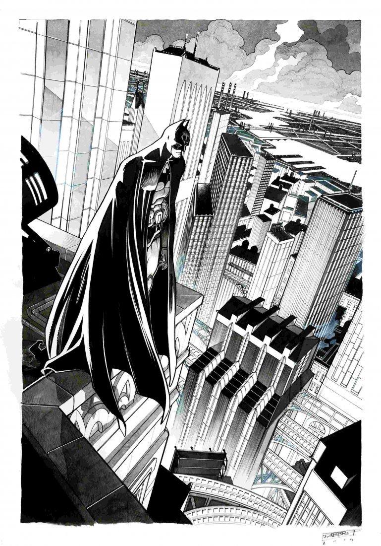 DAVIDE FABBRI Batman - Gotham City