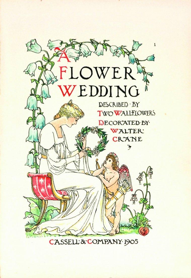 Walter Crane A Flower Wedding