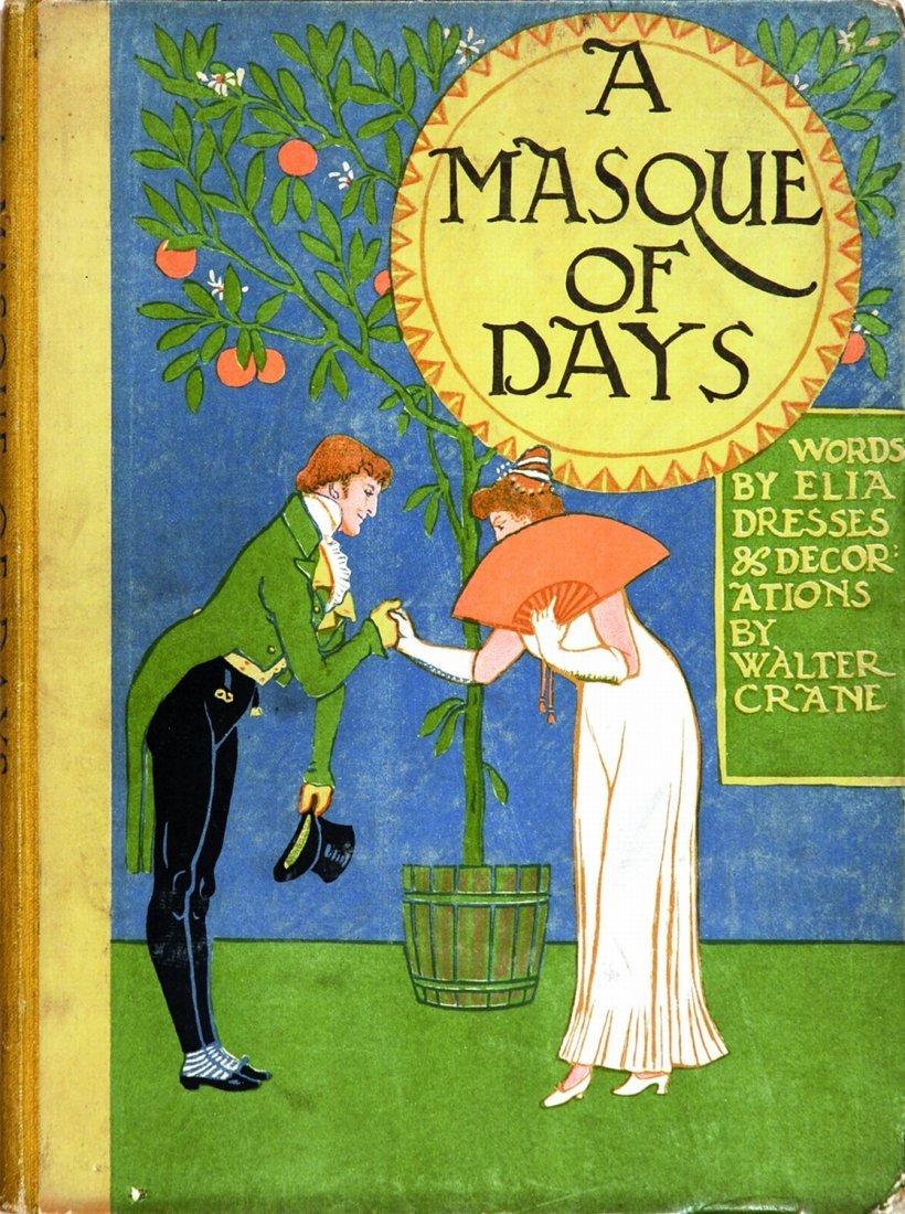 Walter Crane A Masque of Days