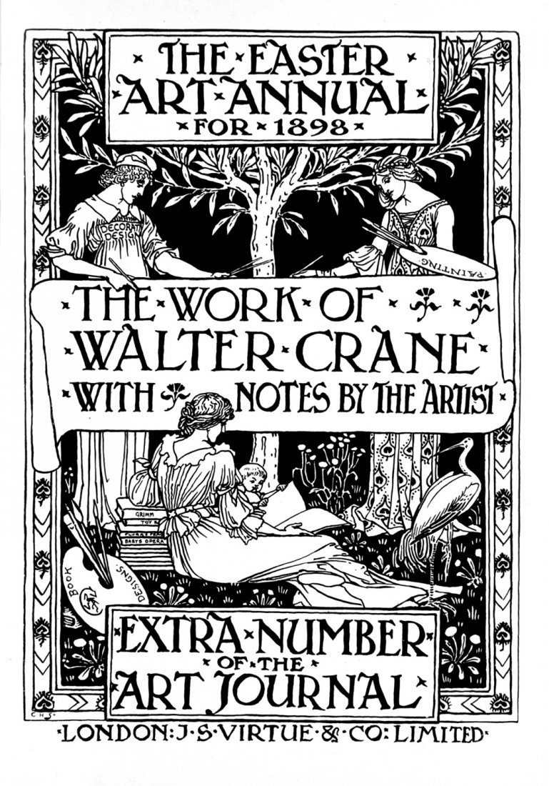 Walter Crane The Work of Walter Crane with notes by the