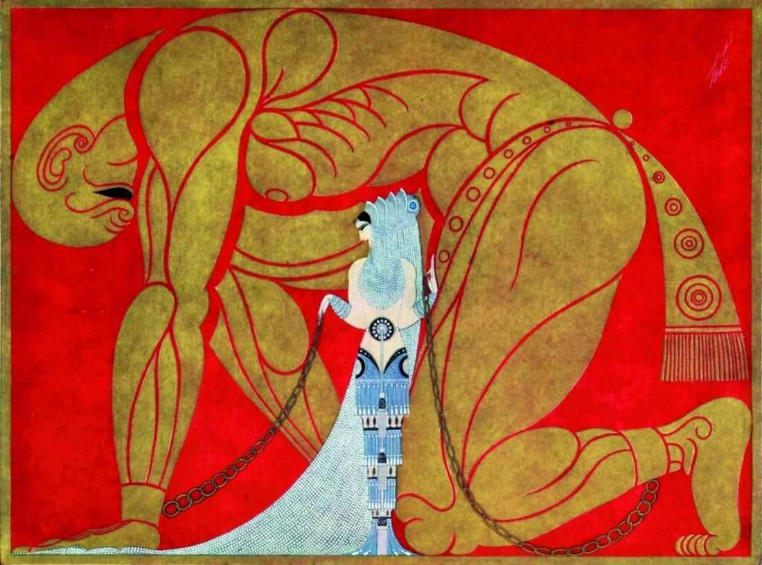 Erté (Romain De Tirtoff) Exhibition of his original
