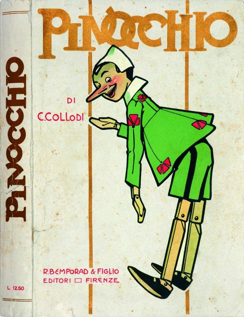 Attilio Mussino Le Avventure di Pinocchio