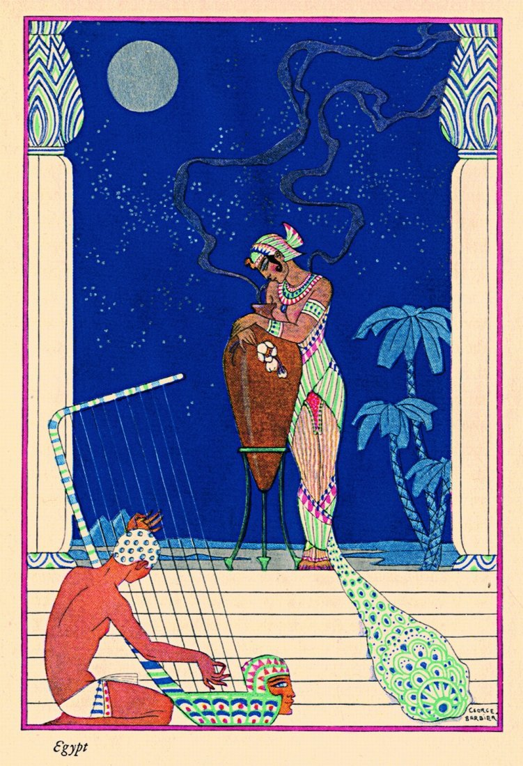 George Barbier The Romance of Perfume