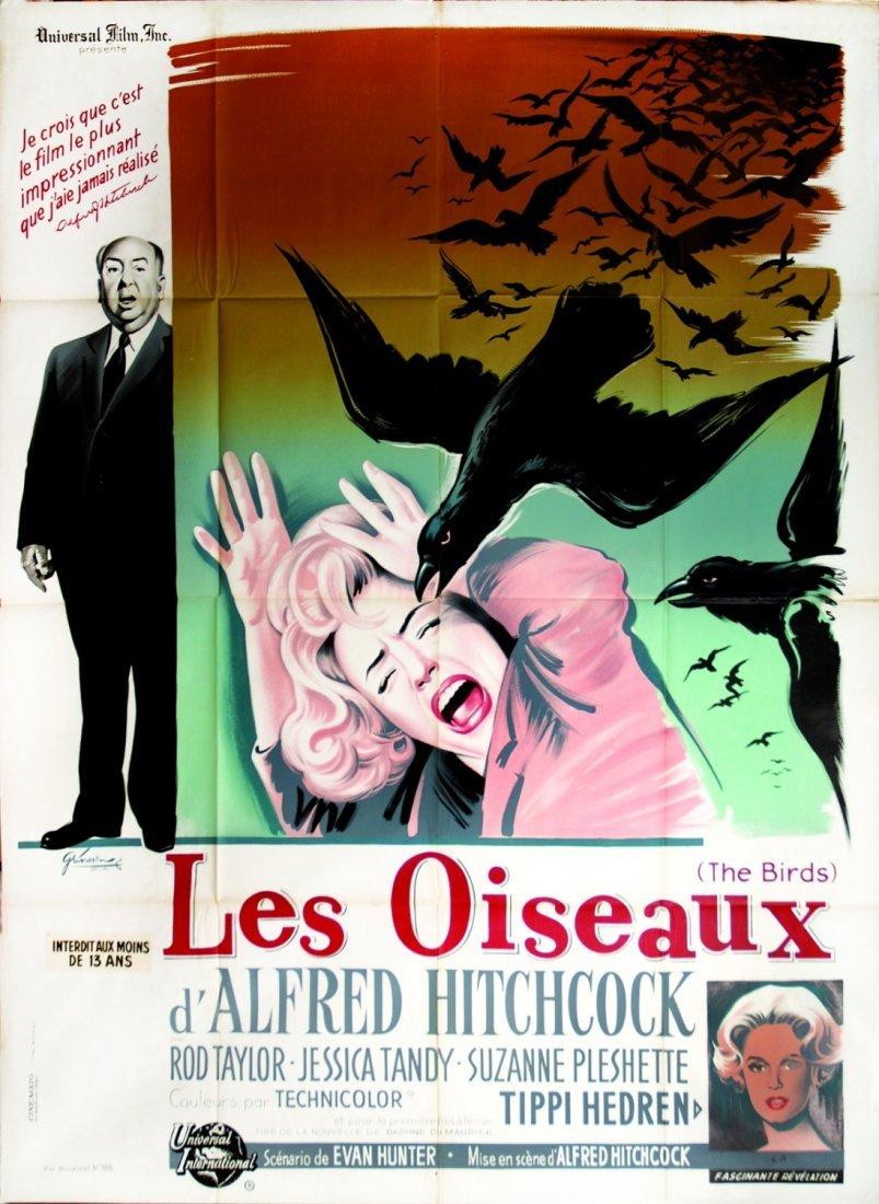 Boris Grinsson Les Oiseaux d'Alfred Hitchcock