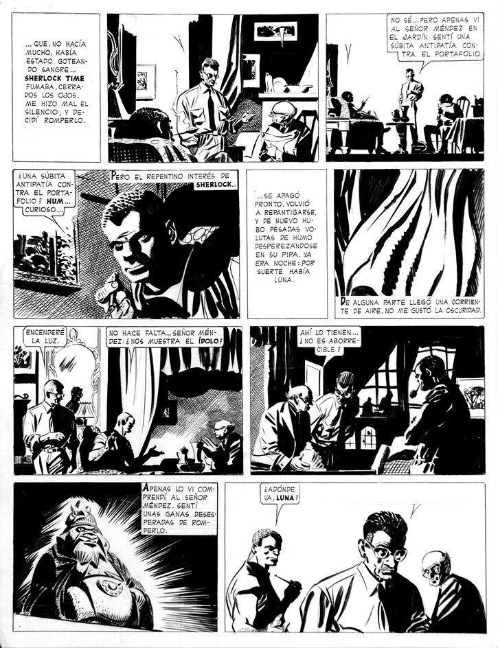 ALBERTO BRECCIA  Sherlock Time - El Idolo