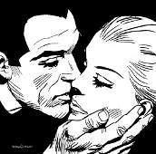 SERGIO ZANIBONI Diabolik ed Eva: tenerezza