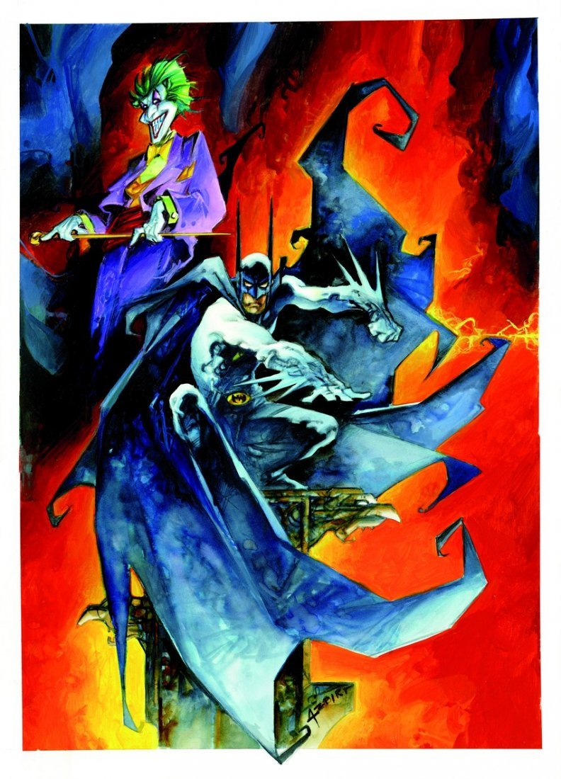 ALFONSO AZPIRI  Batman e Joker