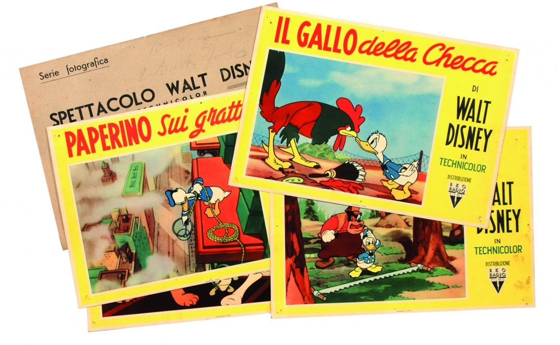 Spettacolo Walt Disney in Technicolor.