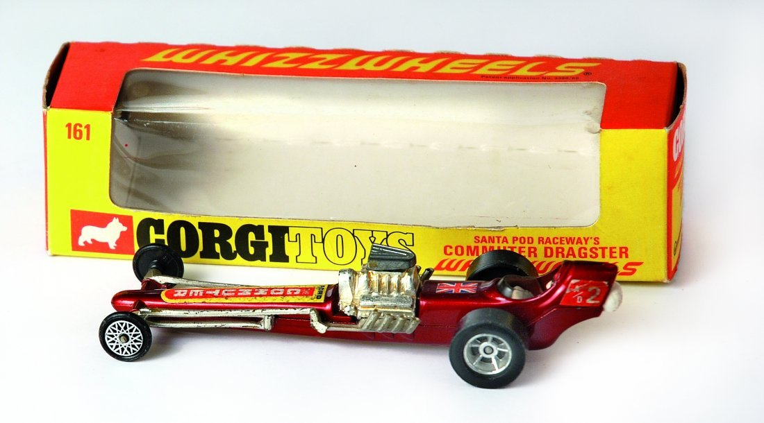 Corgi Toys 161 Santa Pod Raceway's Commuter Dragster