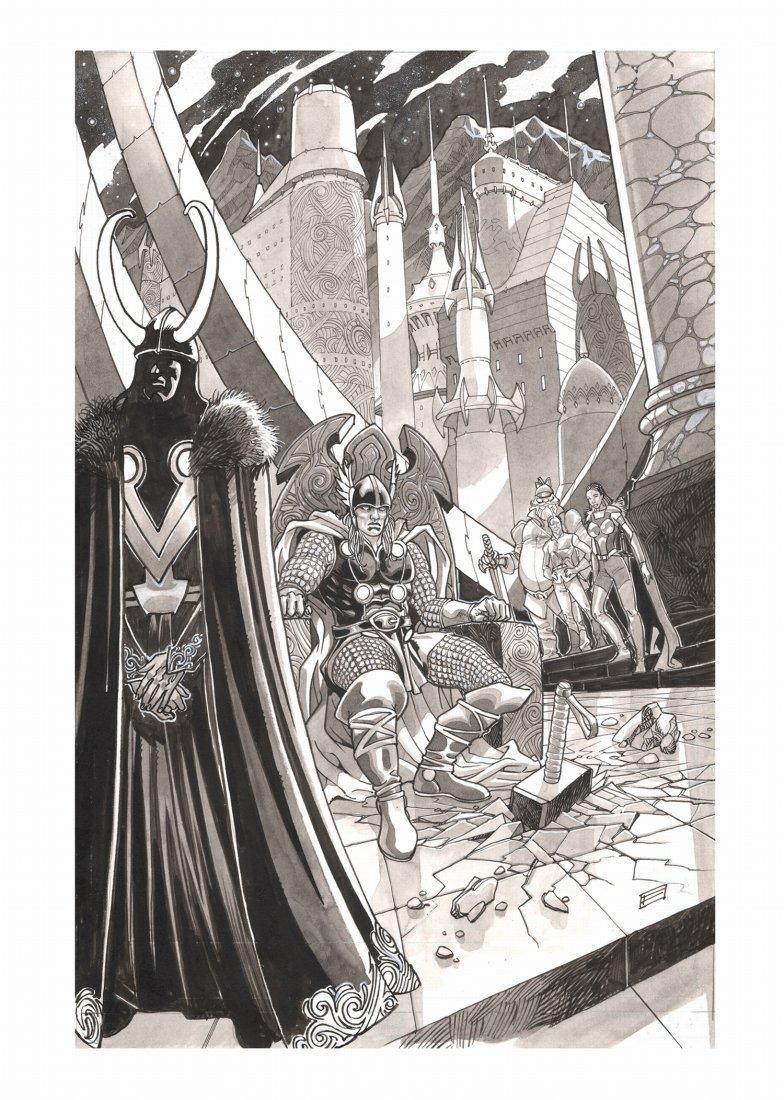 Davide Fabbri  Thor. Il trono di Asgard