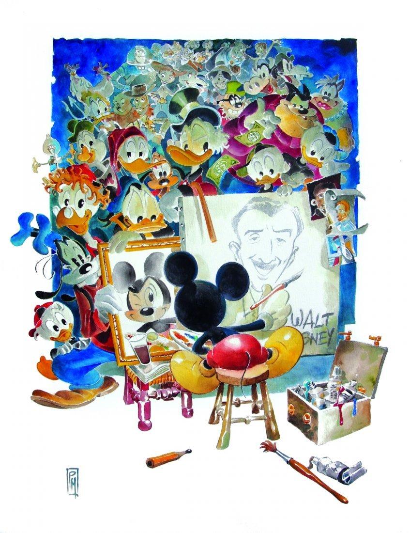 Paolo Mottura Dedicato a Walt Disney