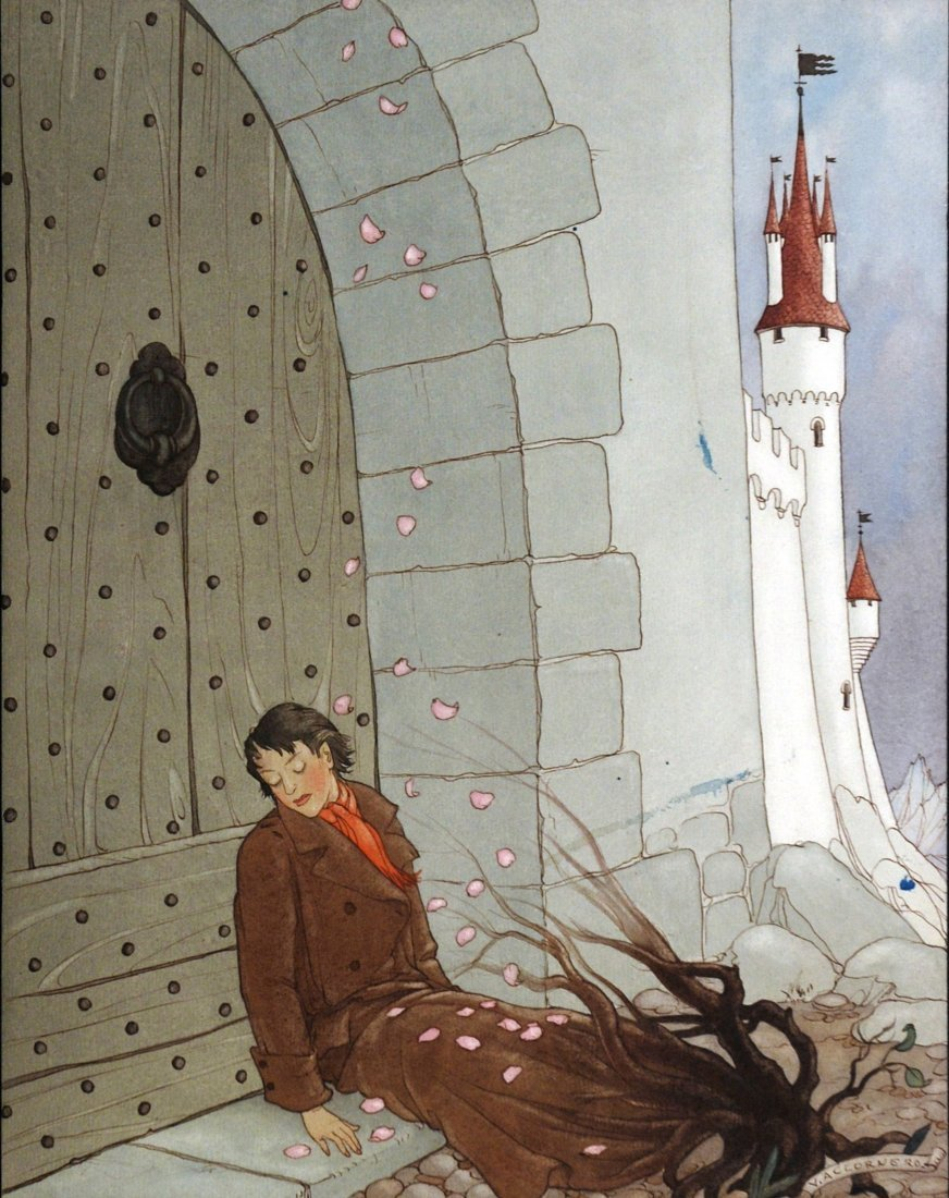 Vittorio Accornero - Illustrazione per la Lampada