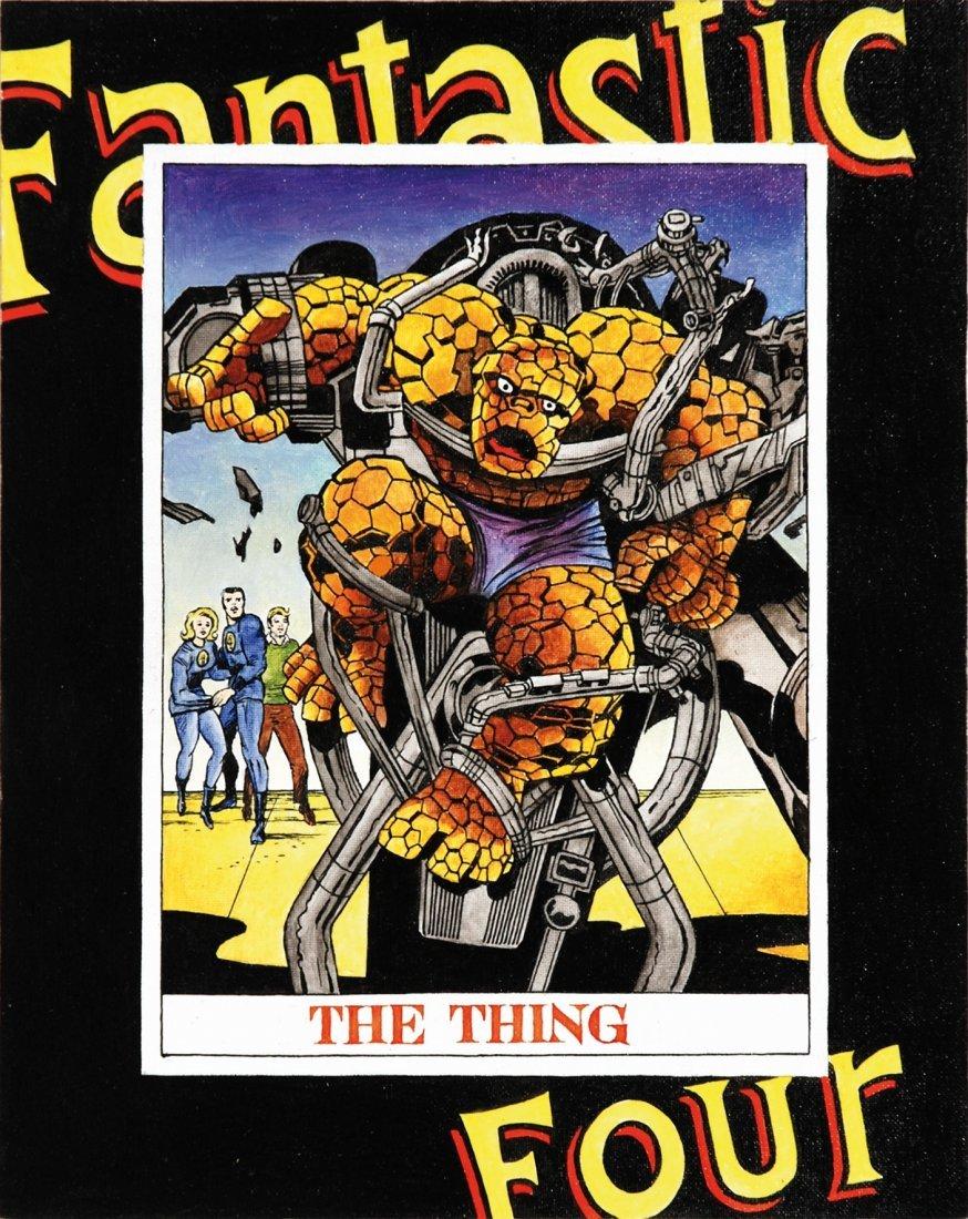 Franco Bruna - Fantastic Four - La cosa