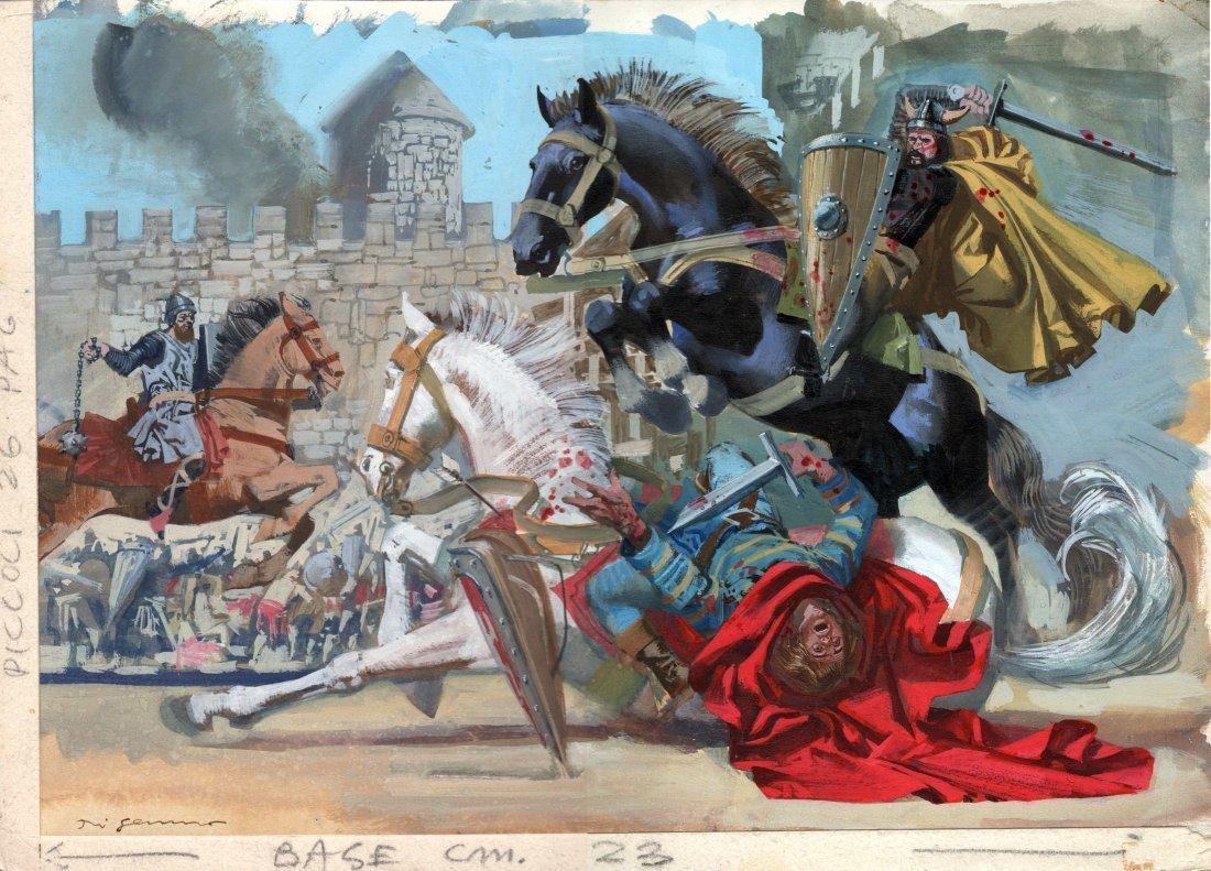 Aldo  Di Gennaro - Cavalieri medievali