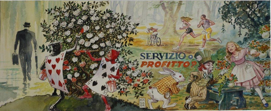Milo  Manara - Alice - Servizio o profitto