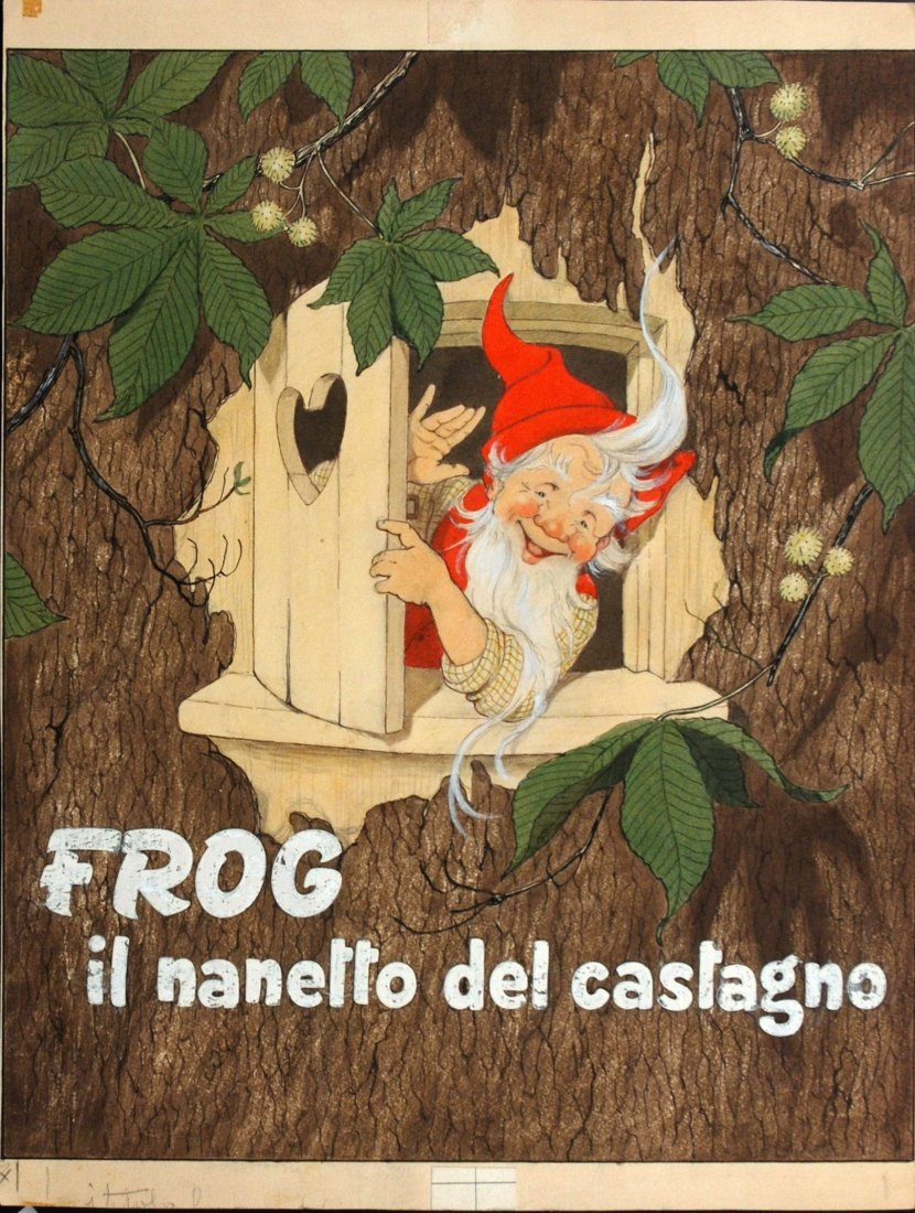 Angiola Resignani - Frog - il nanetto del castagno