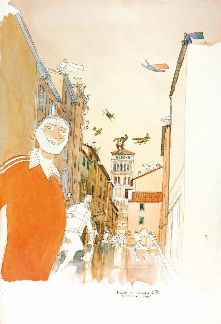 Gianni Pacinotti Gipi - Lucca Comics 2005