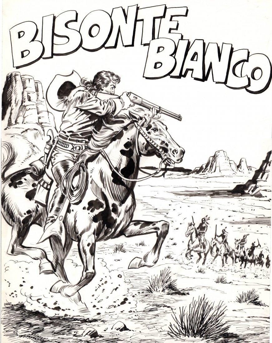 Franco Bignotti - Bisonte Bianco