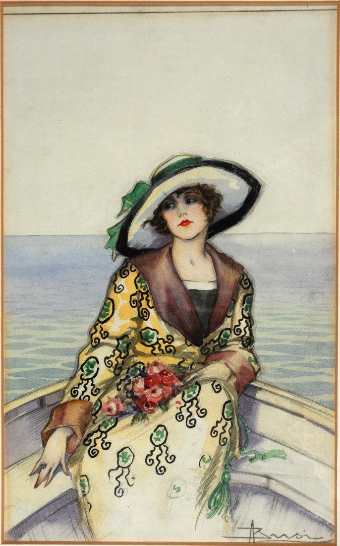 Adolfo Busi - Originali per cartolina