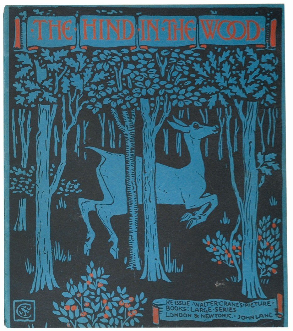 WALTER CRANE The Hind in the Wood