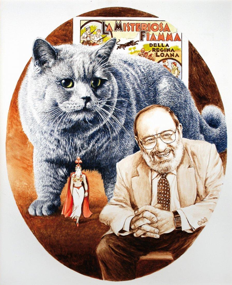 Franco Bruna  Il Gatto di Umberto Eco
