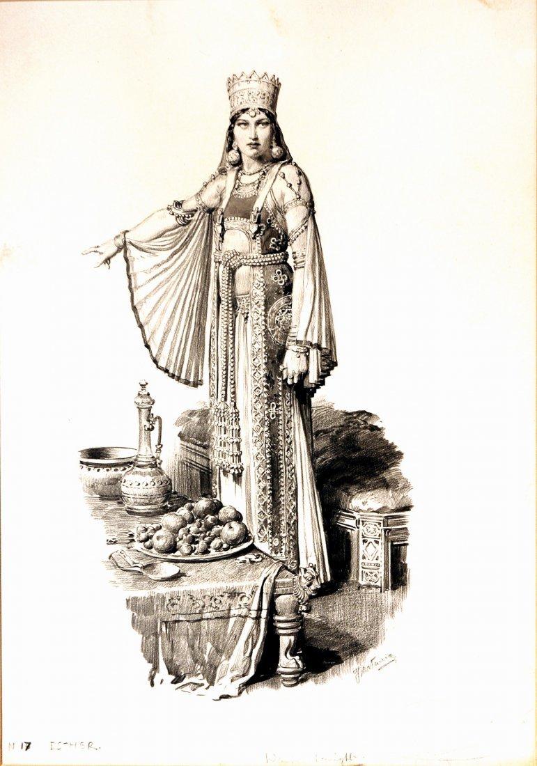 Fortunino Matania  Esther
