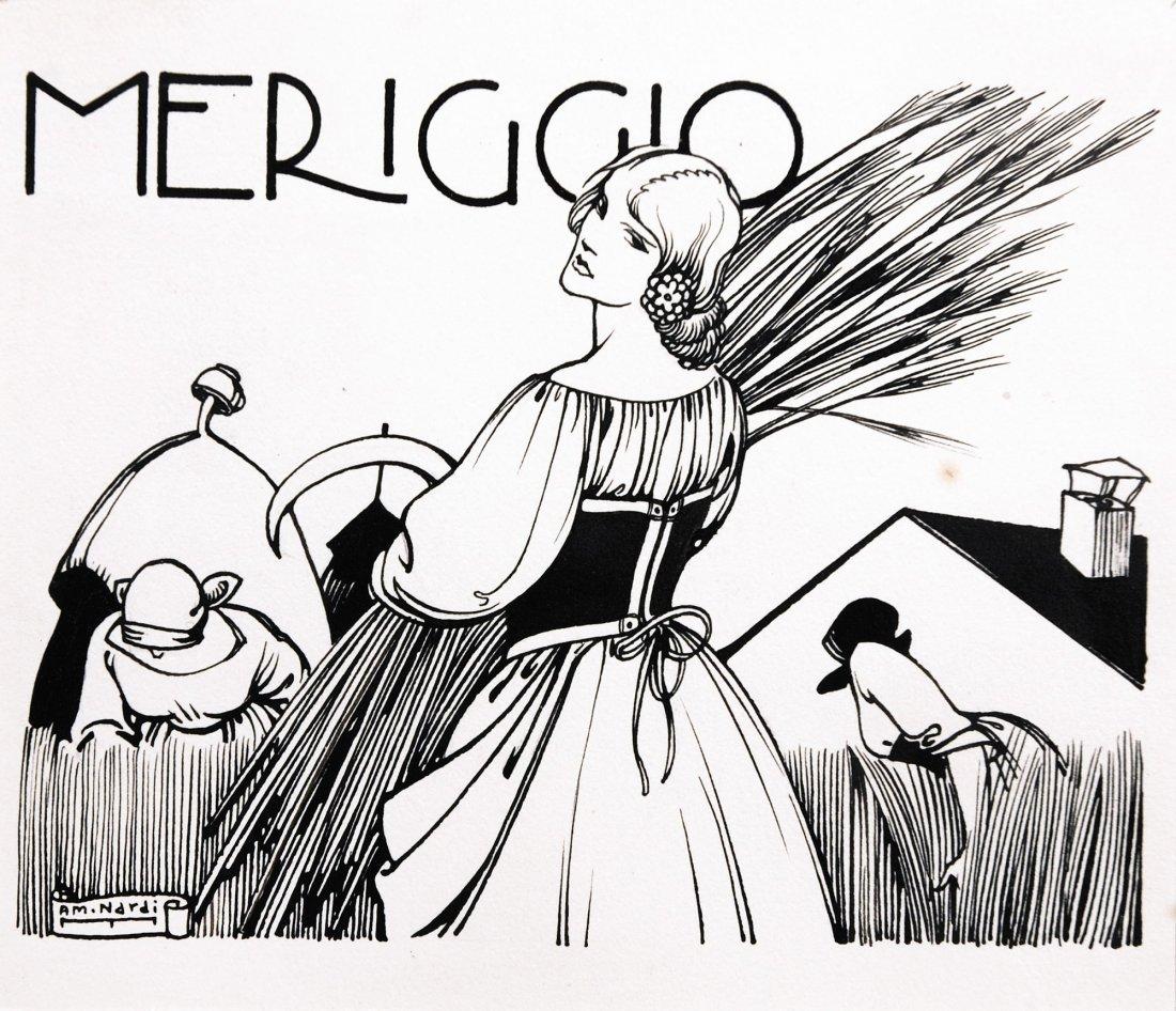 Antonio Maria Nardi  Meriggio
