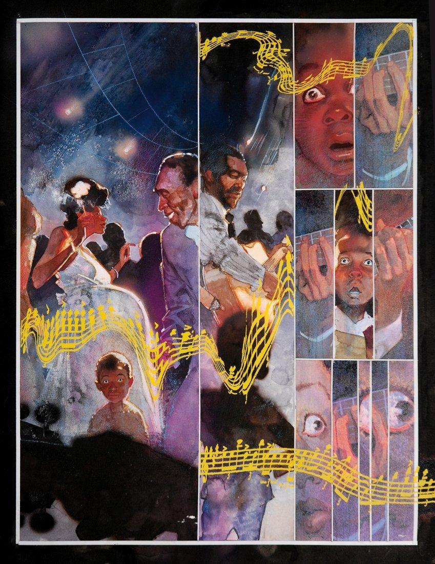 Bill Sienkiewicz  Voodoo Child - The Illustrated Legend