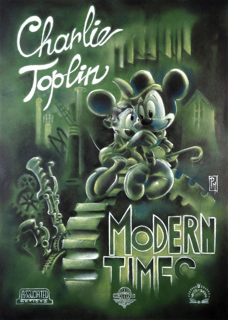 Paolo Mottura  Charlie Toplin - Modern Times