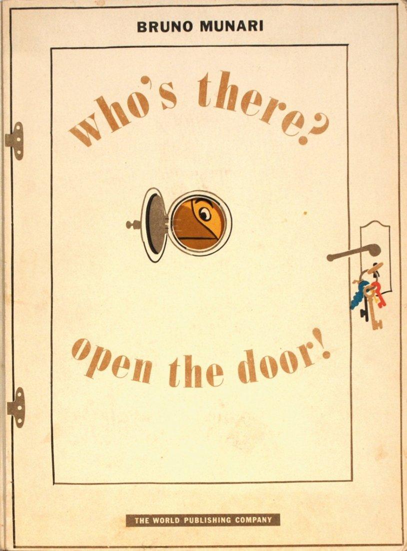 Bruno Munari Who's there? Open the door!