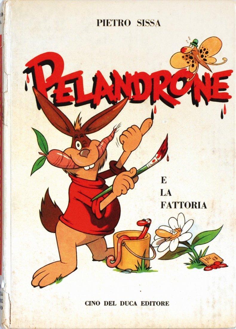Benito Jacovitti Pelandrone e la fattoria