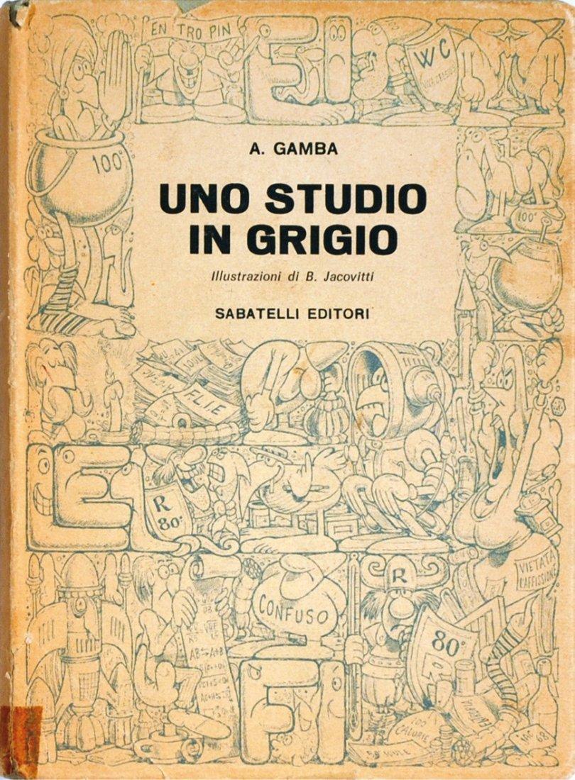 Benito Jacovitti Uno studio in grigio