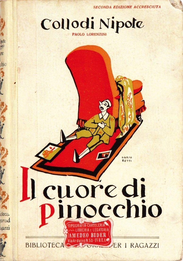 Carlo Chiostri Il Cuore di Pinocchio