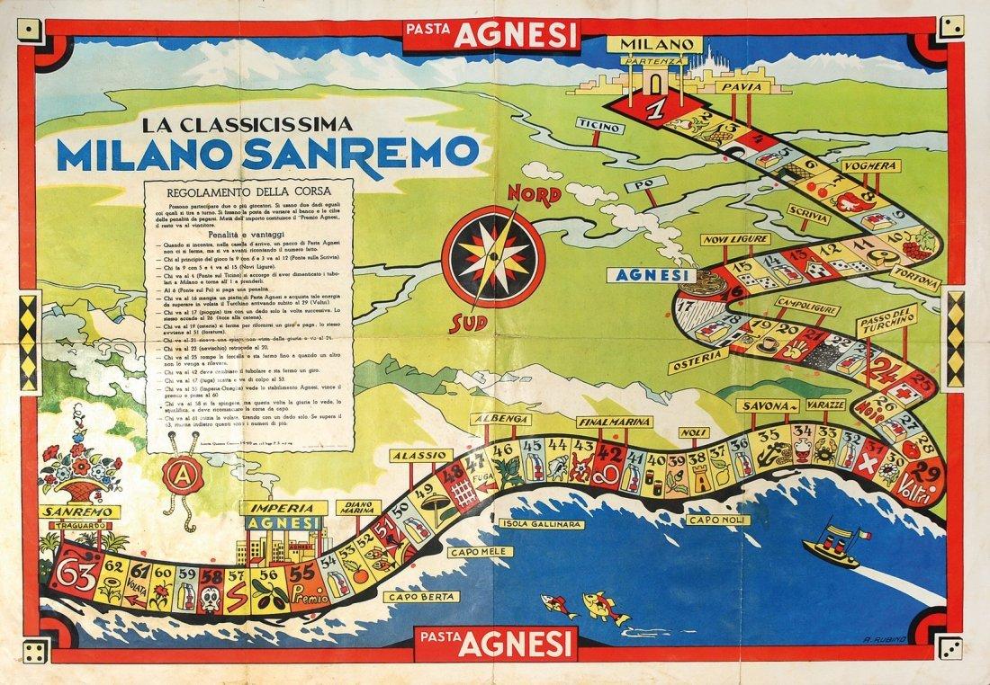 Antonio Rubino La classicissima Milano Sanremo