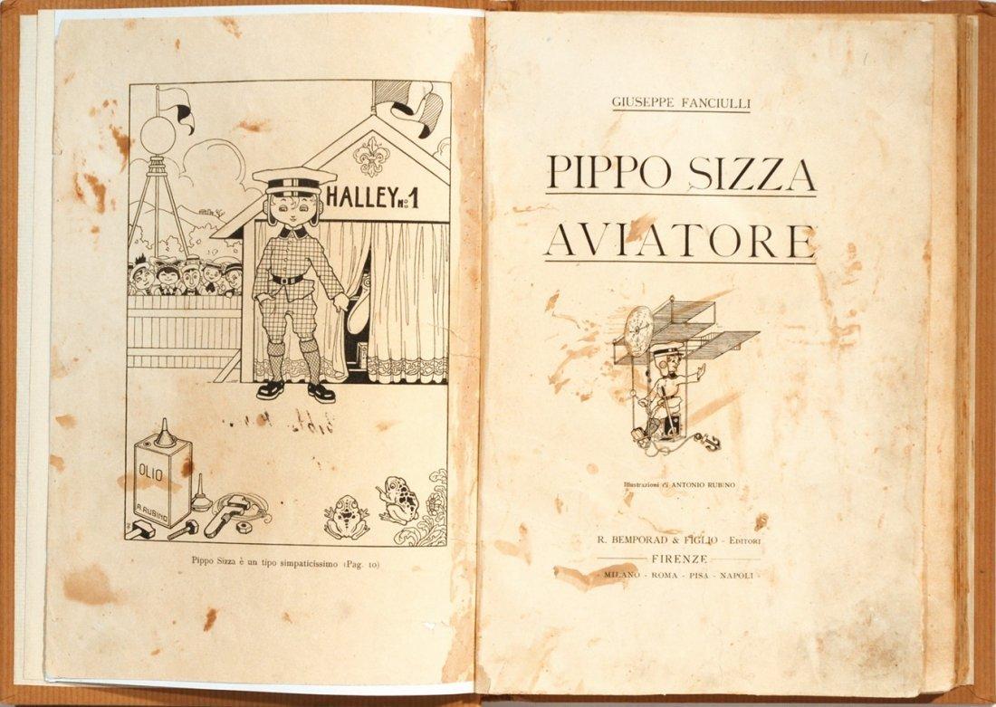 Antonio Rubino Pippo Sizza Aviatore