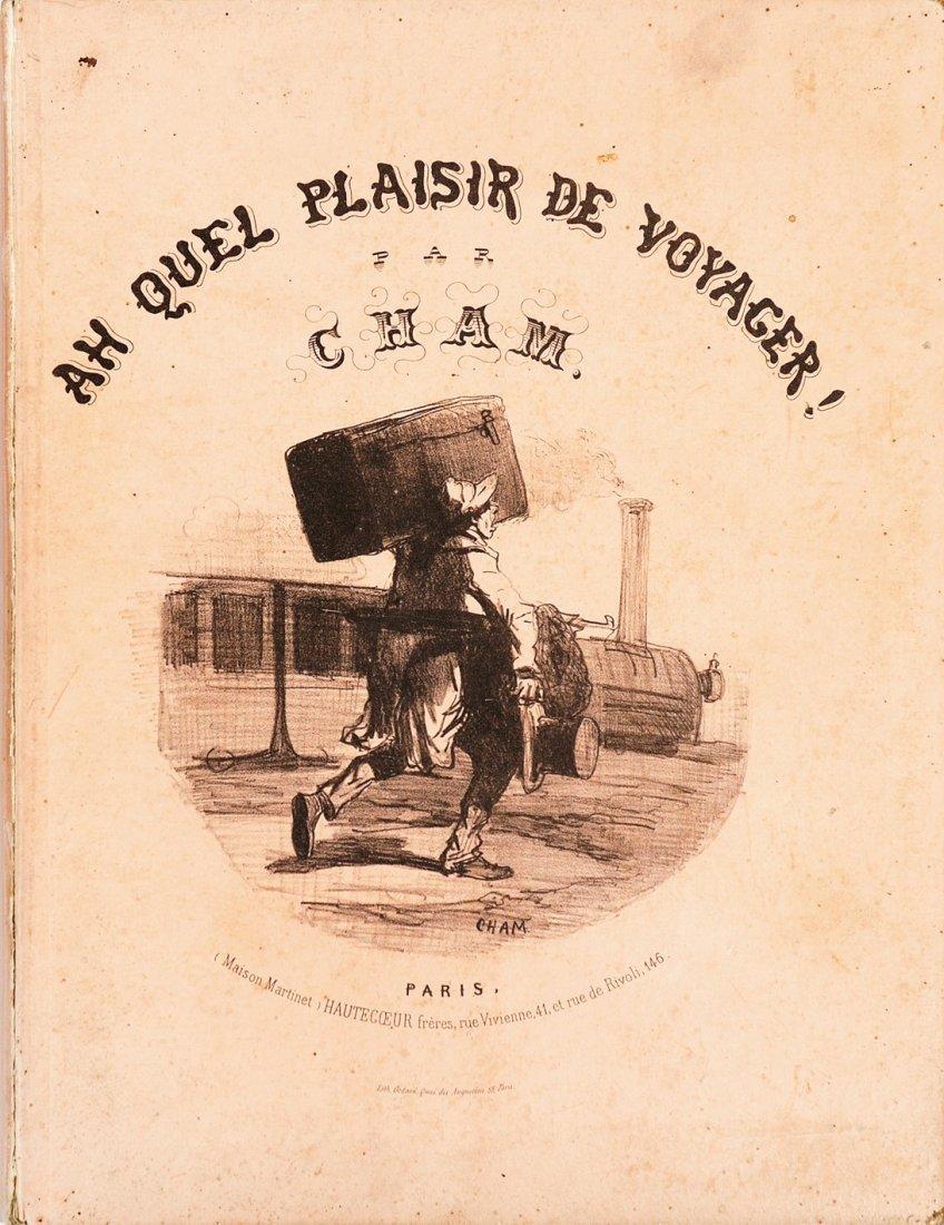 Cham (Amédée De Noé) Ah quel plaisir de voyager !